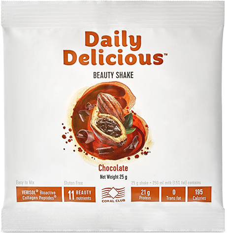 Daily Delicious Beauty Shake Schokolade