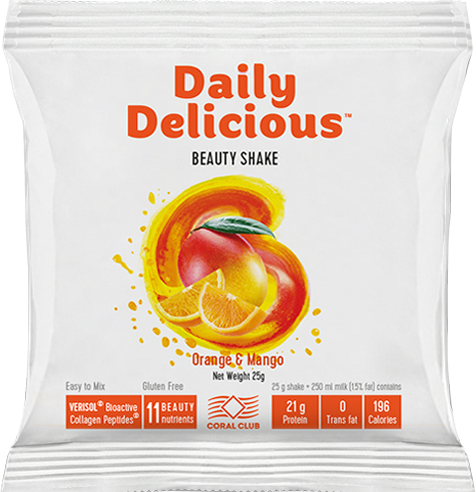 Daily Delicious Beauty Shake Orange-Mango